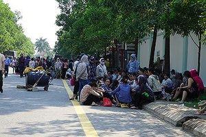Thanh Hóa: Hàng nghìn công nhân ngừng việc tập thể