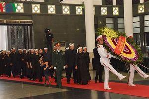 Những hình ảnh xúc động tại lễ viếng nguyên Tổng Bí thư Đỗ Mười