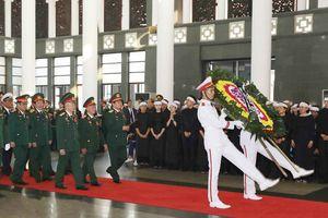 Lễ viếng nguyên Tổng Bí thư Đỗ Mười tại Hà Nội