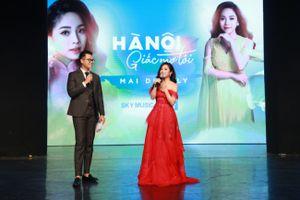 Mai Diệu Ly ra mắt album mới 'Hà Nội giấc mơ tôi'