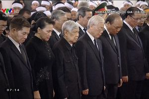 Lãnh đạo Đảng, Nhà nước viếng nguyên Tổng Bí thư Đỗ Mười