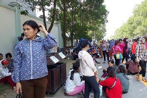 Thanh Hóa: Hàng nghìn công nhân nghỉ việc phản ứng vì lương thưởng thấp