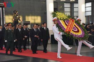 Những hình ảnh tại lễ viếng nguyên Tổng Bí thư Đỗ Mười
