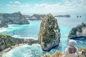 Lặng người ngắm đảo Nusa Penida đẹp như trong tranh khi mùa thu tới