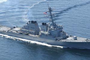 Đối đầu với tàu chiến Mỹ là hành động thách thức của Trung Quốc ở Biển Đông