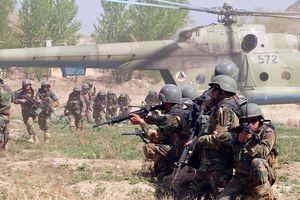 Lính Mỹ và hàng chục binh sĩ địa phương thiệt mạng trong đợt tấn công của Taliban