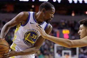 Durant - Thompson 'lên đồng', Golden State vùi dập Sacramento Kings