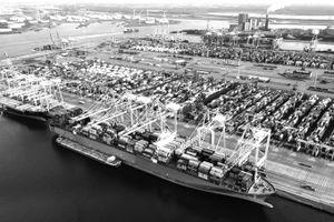 Phát triển vận tải liên hợp ở cảng Rotterdam