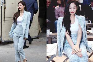 Jennie (Blackpink) đẹp không góc chết tại tuần lễ thời trang Paris
