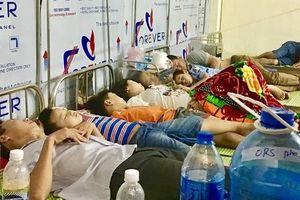 Thông tin mới nhất vụ hàng trăm học sinh nhập viện nghi do ngộ độc ở Ninh Bình