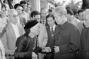 4 dấu ấn nổi bật trong sự nghiệp của nguyên Tổng Bí thư Đỗ Mười