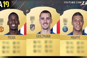 Pogba, Mbappe và đội hình siêu mạnh của ĐT Pháp trong FIFA 19