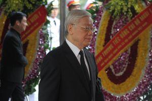 Lãnh đạo Đảng, Nhà nước xúc động trong lễ viếng nguyên Tổng Bí thư Đỗ Mười