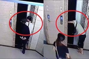 Clip: Con rể sốt ruột mở cửa thang máy, hại bố vợ ngã chết thương tâm