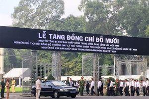 Người dân TP Hồ Chí Minh bày tỏ tiếc thương nguyên Tổng Bí thư Đỗ Mười