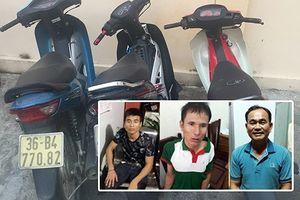 Lần theo móc xích liên hoàn tiền, ma túy của nhóm trộm cắp, tiêu thụ xe máy xuyên quốc gia