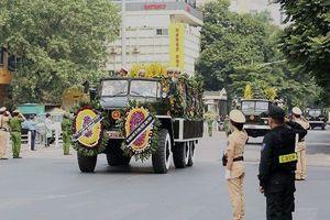 An toàn, nghiêm cẩn bảo vệ Lễ Quốc tang nguyên Tổng Bí thư Đỗ Mười