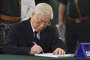 Lời từ biệt của lãnh đạo Đảng, Nhà nước với cố Tổng bí thư Đỗ Mười