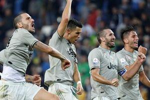 Ronaldo ghi bàn, Juve thắng dễ Udinese