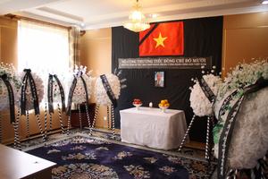 Lễ viếng và mở sổ tang nguyên Tổng Bí thư Đỗ Mười tại Triều Tiên