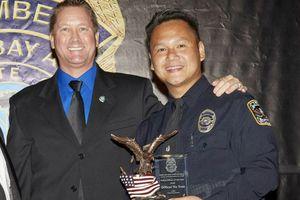 Cảnh sát gốc Việt được vinh danh