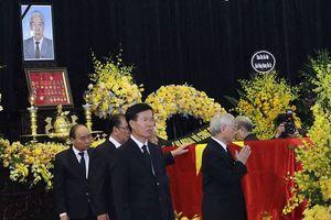 Lãnh đạo Đảng, Nhà nước chào nguyên Tổng bí thư Đỗ Mười lần cuối