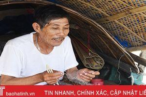 Nhọc nhằn chài lưới ở Xuân Giang
