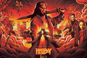 Siêu anh hùng 'Hellboy' phiên bản mới tung poster, chuẩn bị ra mắt năm 2019