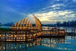 Ở Sài Gòn có một cây cầu đẹp như mơ, bạn trẻ không nên bỏ qua