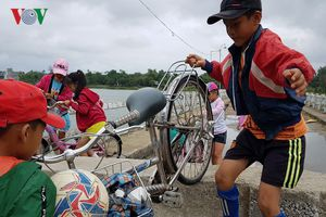 Dân mòn mỏi chờ xây cầu mới qua sông Thu Bồn tại Quảng Nam
