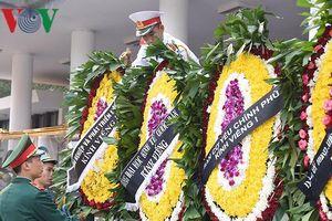 Nhà tang lễ Quốc gia trước giờ truy điệu nguyên Tổng Bí thư Đỗ Mười