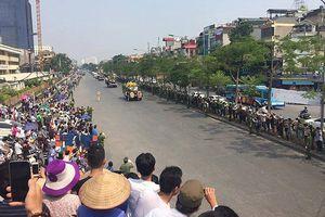 Phố phường Hà Nội lưu luyến tiễn đưa nguyên Tổng Bí thư Đỗ Mười