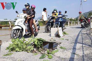 Cầu dân sinh độc đạo hỏng nặng, 1.200 hộ dân nguy cơ bị cô lập