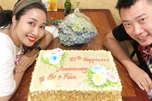Vợ chồng Ốc Thanh Vân kỷ niệm 10 năm ngày cưới trên đất Mỹ