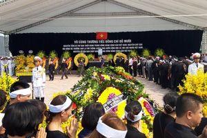 Nguyên Tổng Bí thư Đỗ Mười đã được an táng tại quê nhà: 'Xin vĩnh biệt đồng chí!'