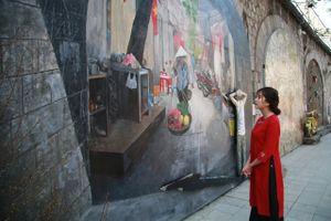 Nhiều hoạt động văn hóa nghệ thuật tại không gian bích họa phố Phùng Hưng dịp 10/10