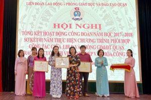 Quận Hoàn Kiếm (TP. Hà Nội): Công đoàn phối hợp hiệu quả với Phòng GDĐT
