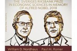 'Nobel Kinh tế' 2018 vinh danh hai nhà kinh tế học Mỹ