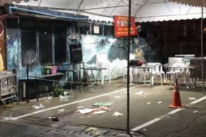 Hai du khách thiệt mạng do đạn lạc từ cuộc đấu súng của băng đảng Thái Lan
