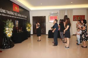 Lễ viếng Nguyên Tổng Bí thư Đỗ Mười tại Malaysia, Sri Lanka