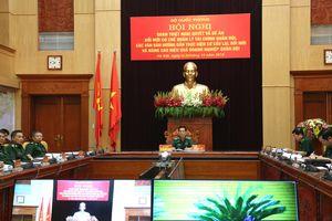 Quán triệt Nghị quyết, Đề án Đổi mới cơ chế quản lý tài chính quân đội