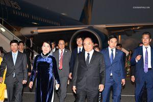 Thủ tướng Nguyễn Xuân Phúc đến Tokyo