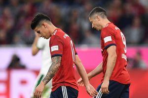 Vòng 7 Bundesliga: Bayern Munich văng khỏi tốp đầu