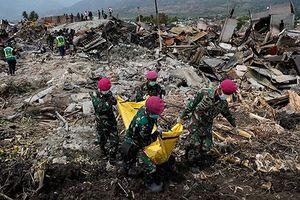 Còn 5.000 người mất tích trong động đất, sóng thần ở Indonesia