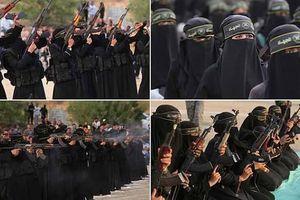 Xem nữ du kích Palestine phô diễn sức mạnh trên Dải Gaza