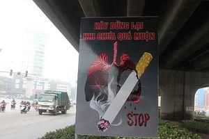 Xây dựng môi trường không thuốc lá trong bệnh viện