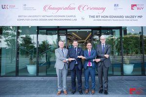 Đặc phái viên Thương mại của Thủ tướng Anh tại VN thăm trường Đại học Anh Quốc ( BUV)