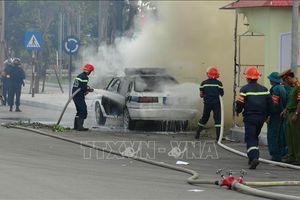 Diễn tập xử lý tình huống gây rối, bạo loạn, đánh bắt khủng bố và chữa cháy cứu nạn cứu hộ