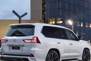 Lexus LX570 S 2019: Mẫu SUV hầm hố, hào nhoáng cho đại gia