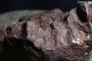 Dùng thiên thạch trị giá 100.000 USD làm đá chặn cửa suốt 30 năm